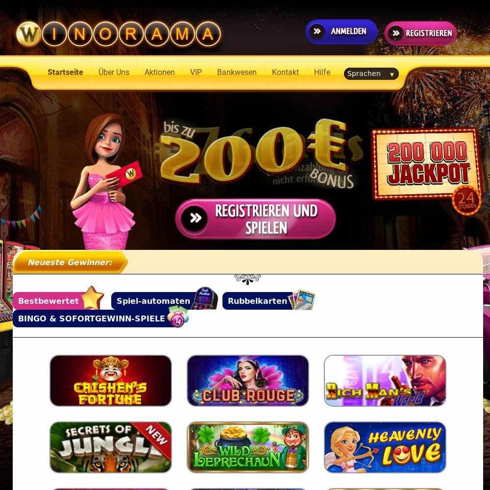 Casino Winorama avis : notre avis sur ses différents aspects