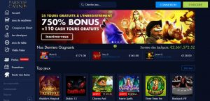 plateforme paris vip casino